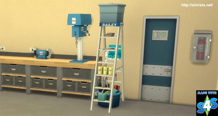 Ladder Decor Sims 4 CC