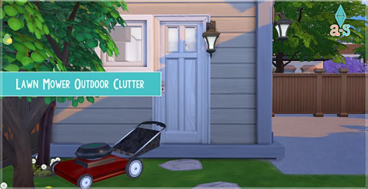 Lawn Mower Sims 4 CC