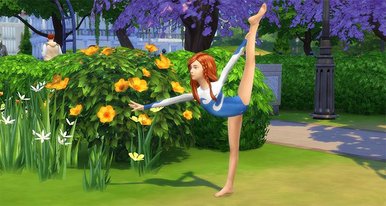 Alyouksa Mystique Gymnastics Leotards #3 (Kids) TS4 CC