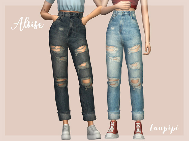 Aloise Jeans Sims 4 CC