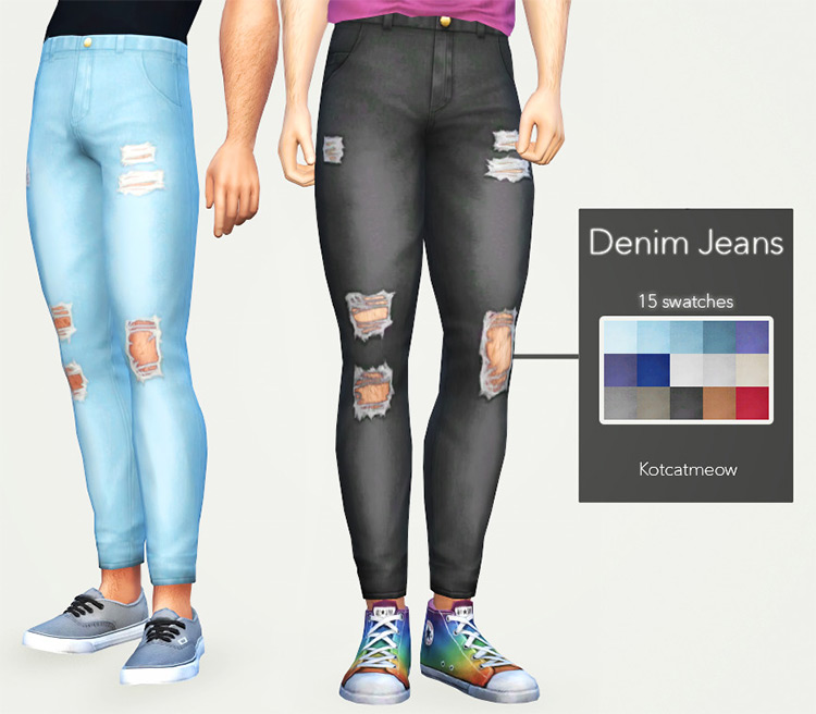Denim Jeans for Sims 4