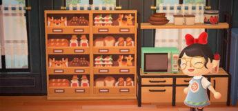 Amber Aki Huang-style Bakery Interior - ACNH