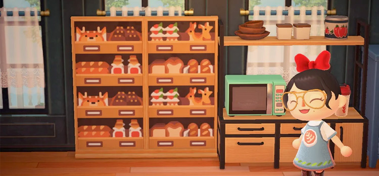 Amber Aki Huang-style Bakery Interior - ACNH