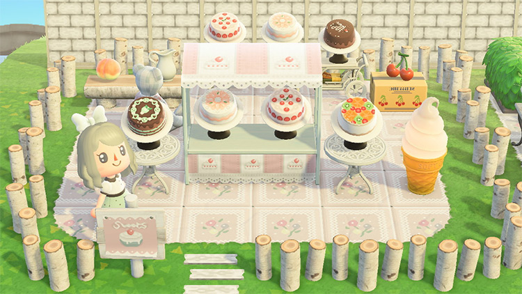 Sweet Bakery Design in ACNH