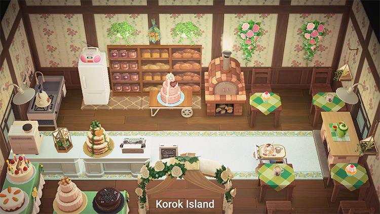 Wedding Cakery Interior Idea - ACNH