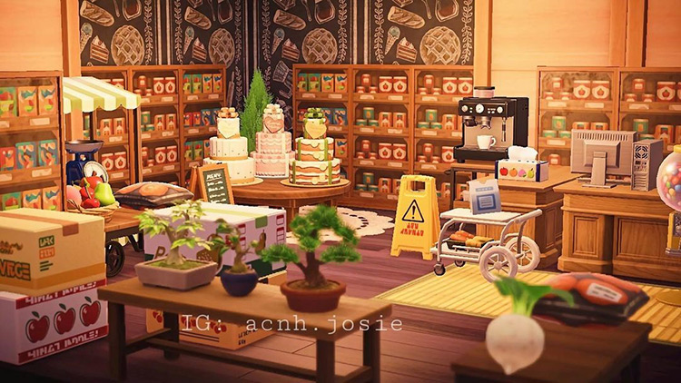 Grocery Bakery Interior - ACNH