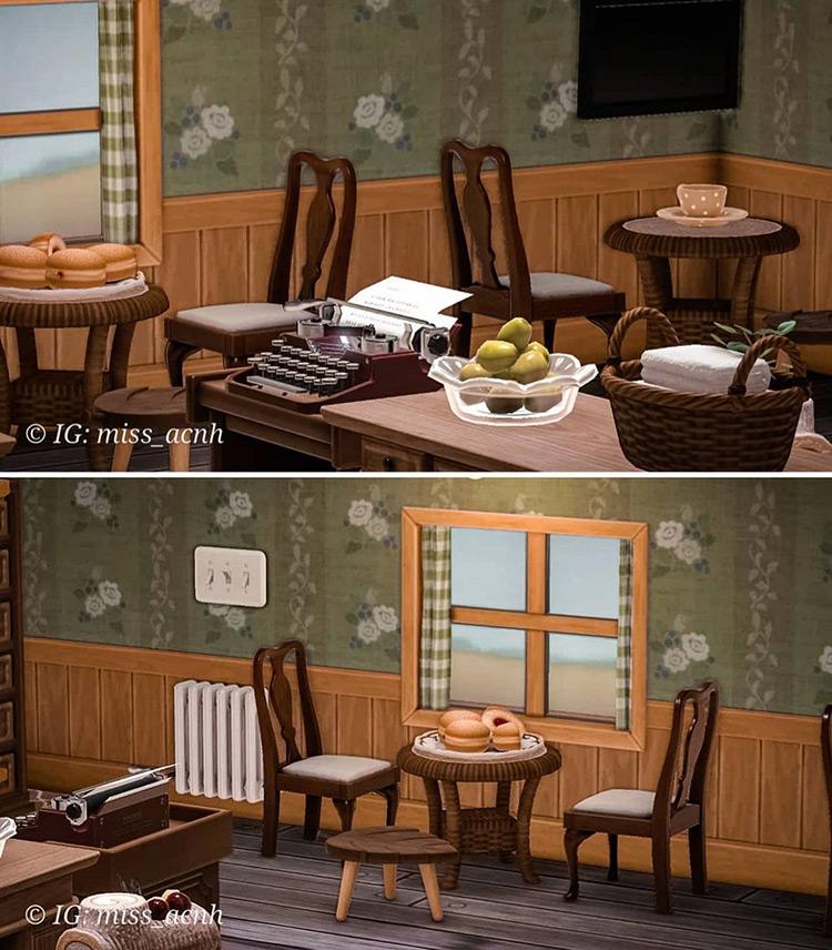 Nook's Bakery Interior - ACNH Idea