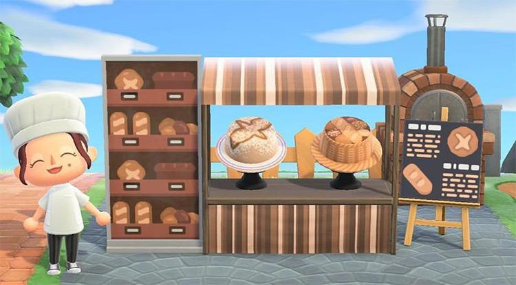 Roadside Bake Stand Idea for ACNH
