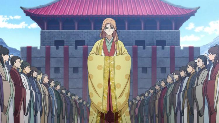 Su-won in Yona of the Dawn anime