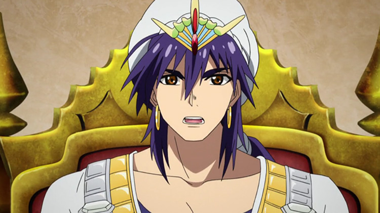 Sinbad from Magi: The Labyrinth of Magic