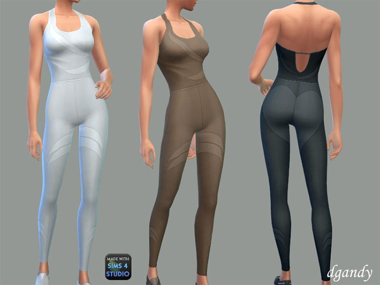 Yoga Outfit - Catalina Sims 4 CC