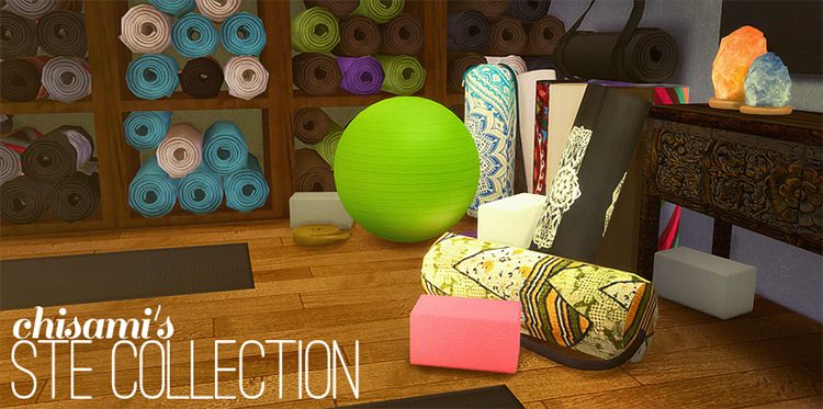 STE collection Sims 4 CC