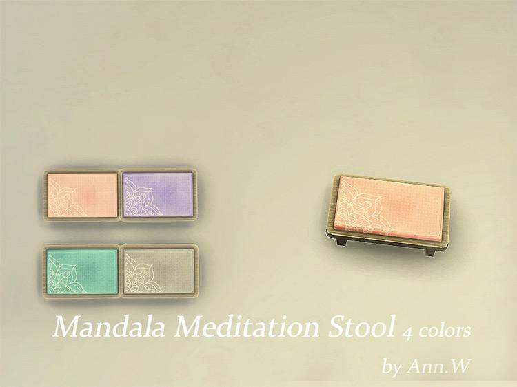 Mandala Meditation Stool CC screenshot