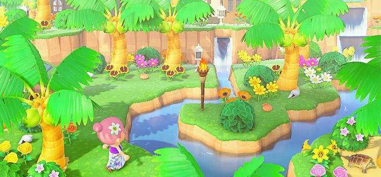 15 Summer Island Design Ideas For Animal Crossing: New Horizons