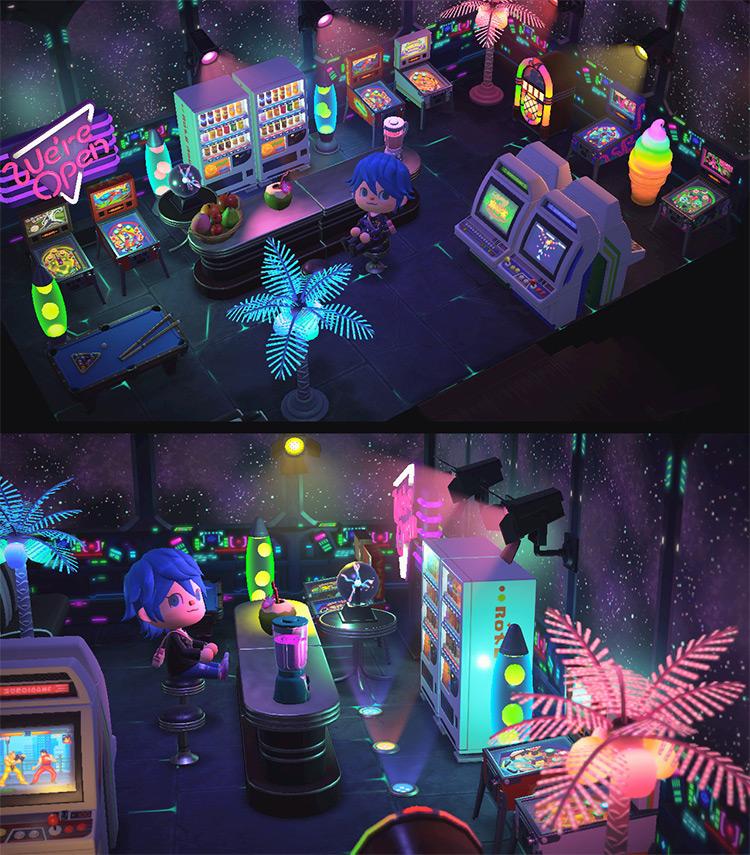Retro Arcade Design Idea - ACNH
