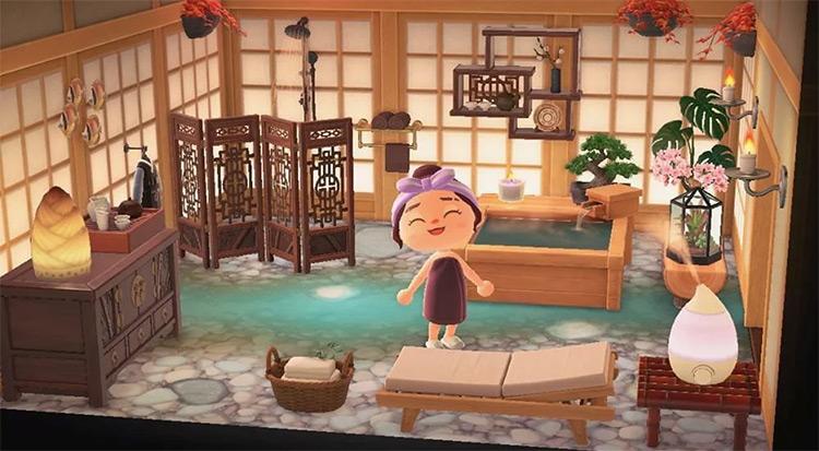 Zen Spa and Sauna in ACNH
