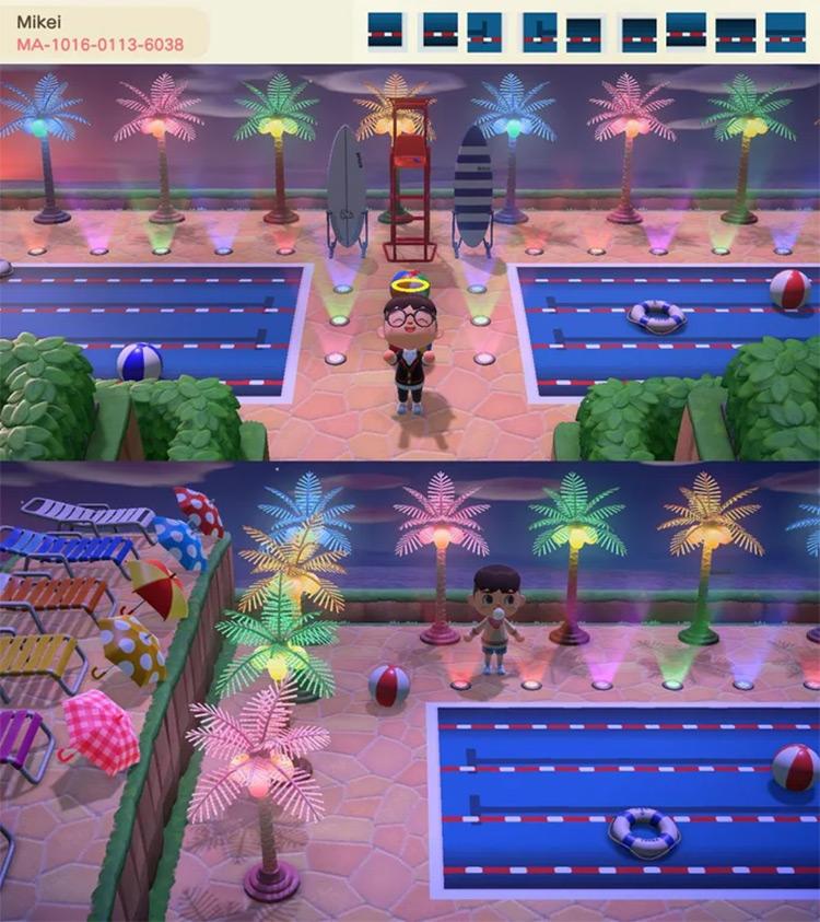 Summer Pool Party Idea - ACNH