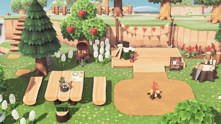 Cozy Campsite in Summer - ACNH