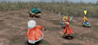 FF9 Quina Battle Frog Drop Screenshot