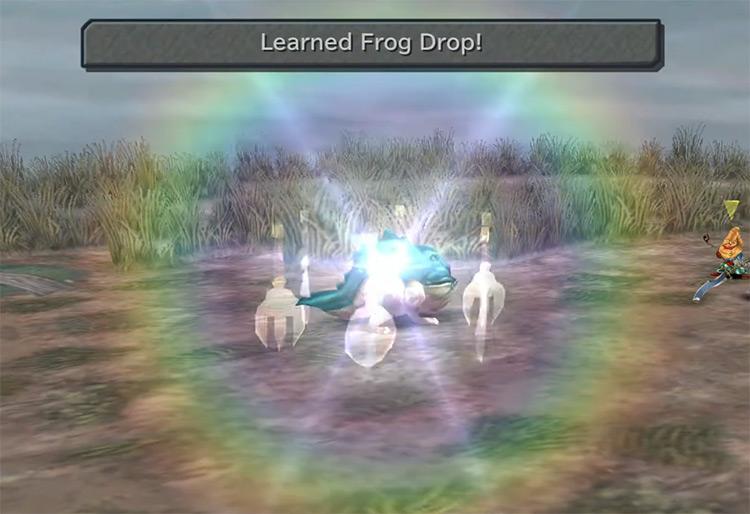 Frog Drop FFIX Blue Magic Spell