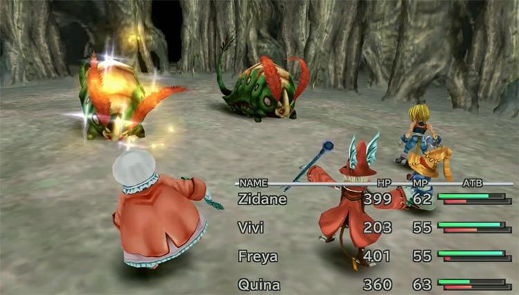 Auto-Life in Final Fantasy IX