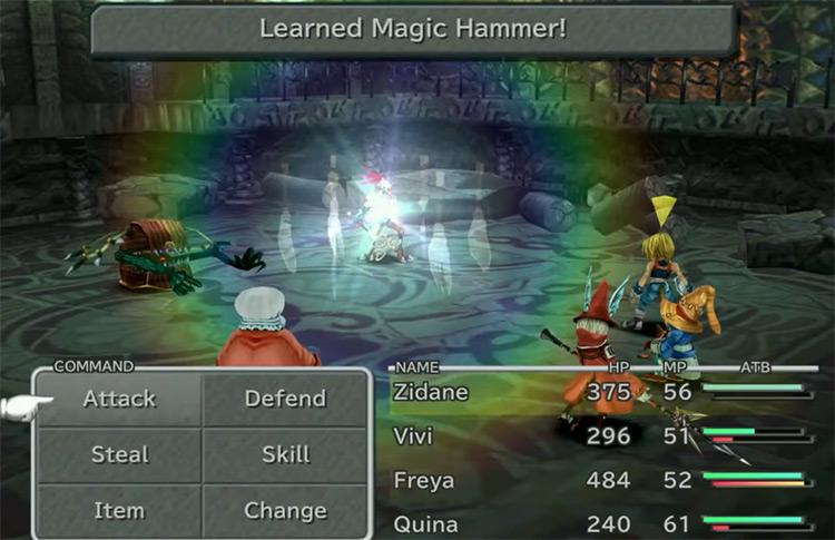 Magic Hammer from FFIX