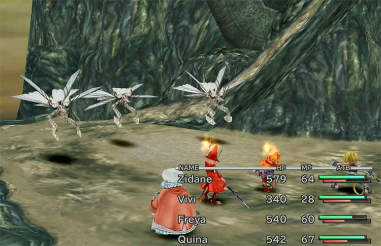 Matra Magic in Final Fantasy IX