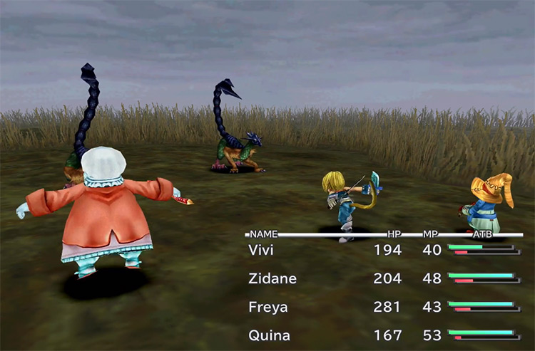 Mighty Guard - Blue Magic Spell in FF9