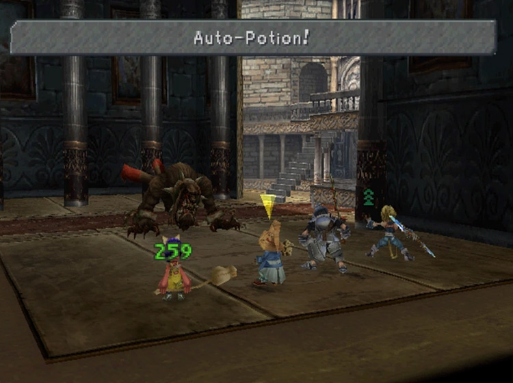 Auto-Potion in Final Fantasy IX
