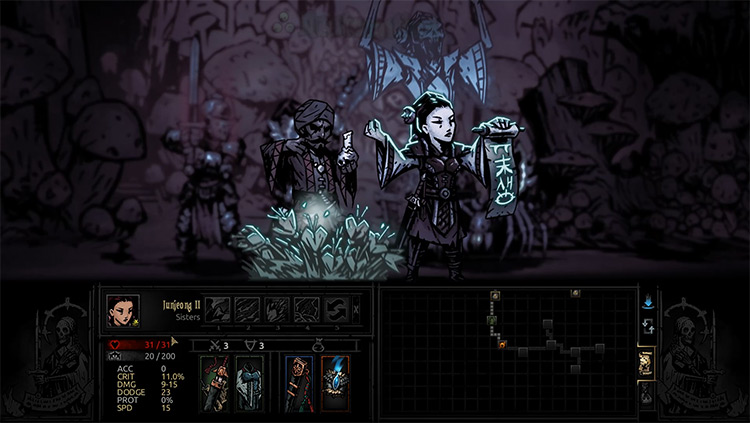 Marvin Seo's Sisters Class Mod in Darkest Dungeon
