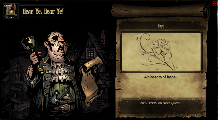 Expanded Town Events mod for Darkest Dungeon