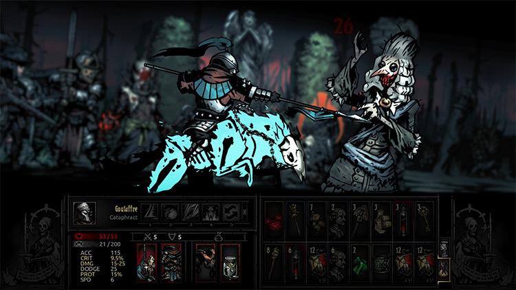 Cataphract Class Mod for Darkest Dungeon