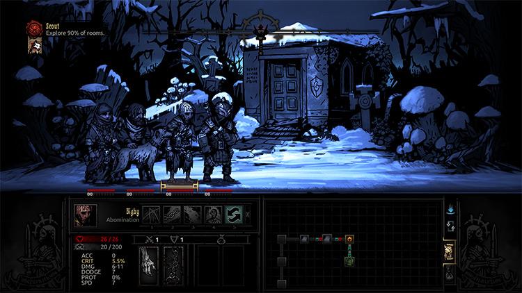 Winter Wonderland mod for Darkest Dungeon