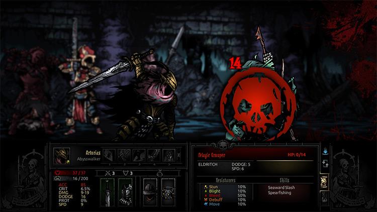 Abysswalker Darkest Dungeon mod