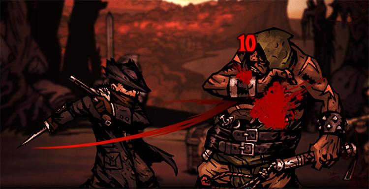 Bloodborne Highwayman Skin in Darkest Dungeon