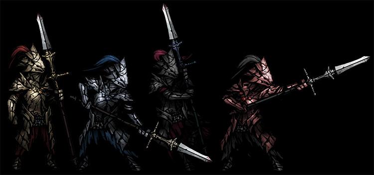Dragonslayer Hellion Darkest Dungeon mod
