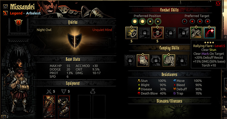 UI Enhancement Darkest Dungeon mod
