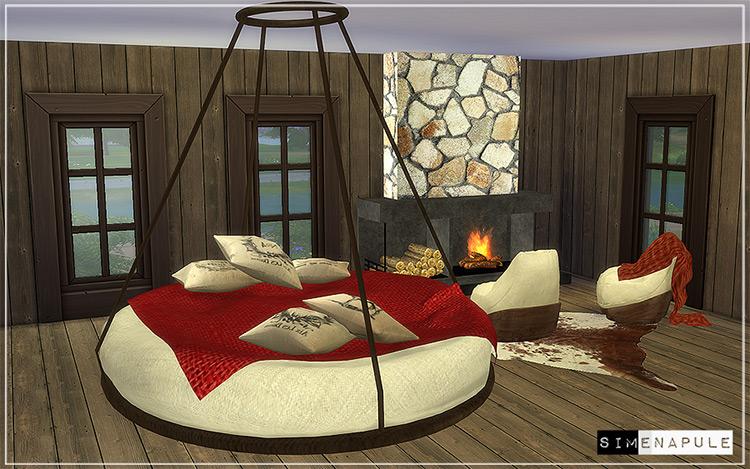 Bedroom Set Hamal Sims 4 CC