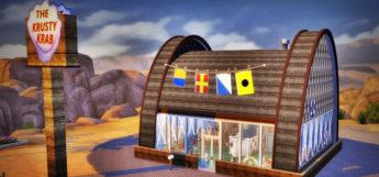Krusty Krab Restaurant Lot Mod - Sims 4 CC