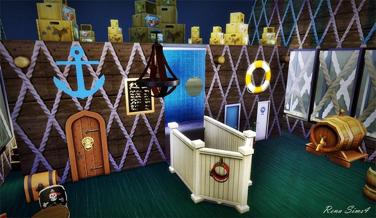 The Krusty Krab Sims 4 CC