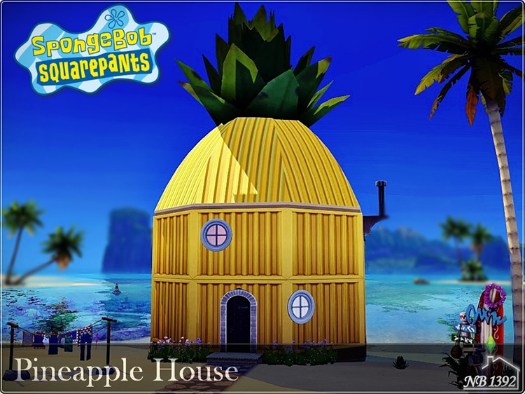 Pineapple House for Sims 4