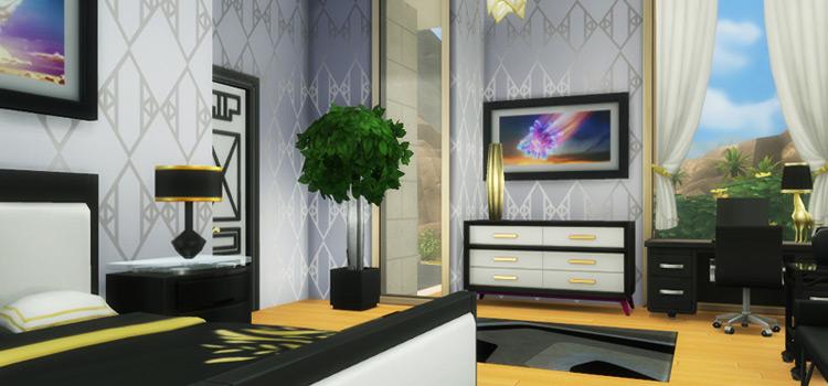Art Deco Interior Mod/Lot Preview - TS4