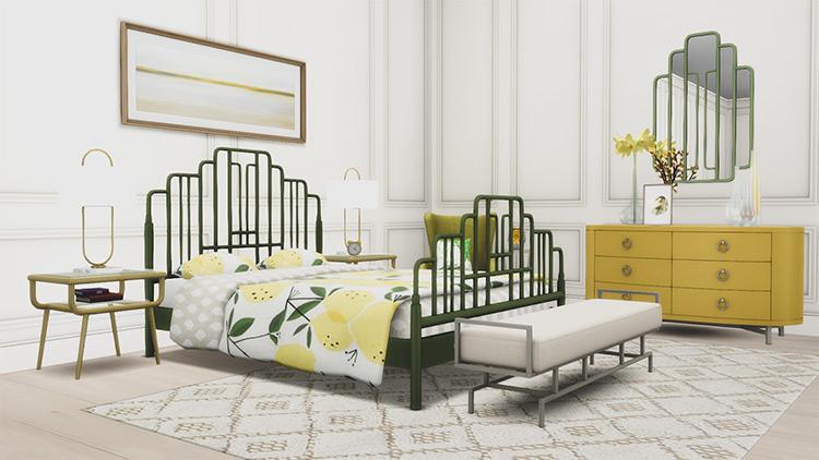 Ophelia Bedroom Suite Sims 4 CC