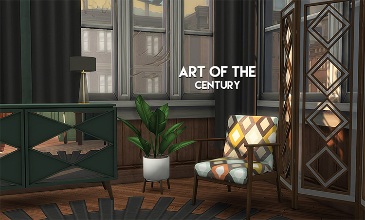 Art of the Century Sims 4 CC