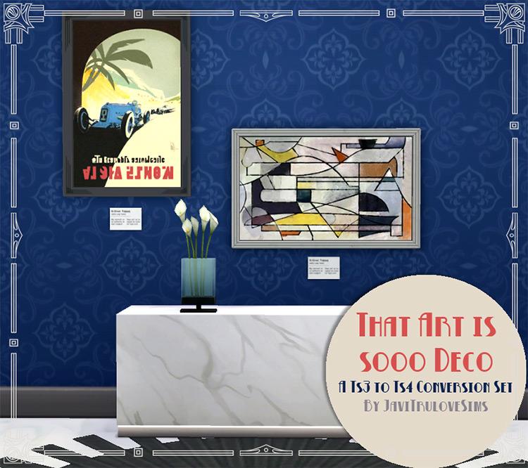 That Art is Sooo Deco TS4 CC