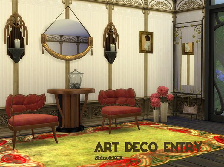 Art Deco Entry Sims 4 CC
