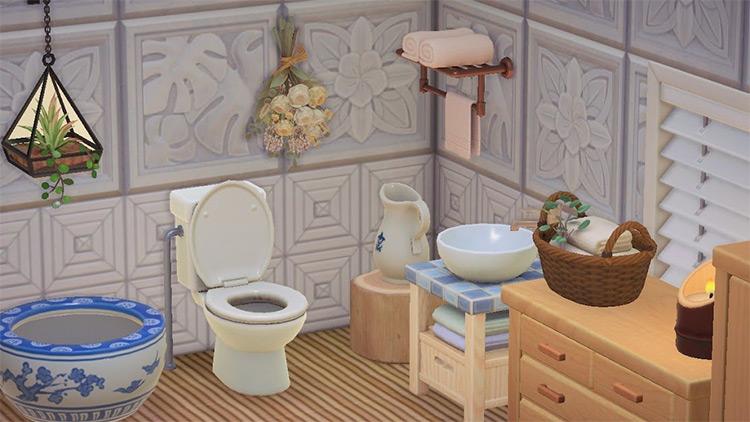 Simplicity bathroom design idea - ACNH