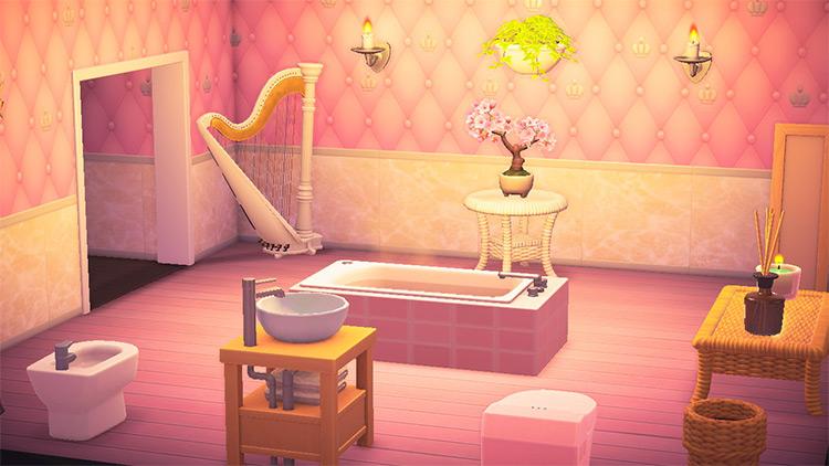 Royal Bathroom Themed Design - ACNH