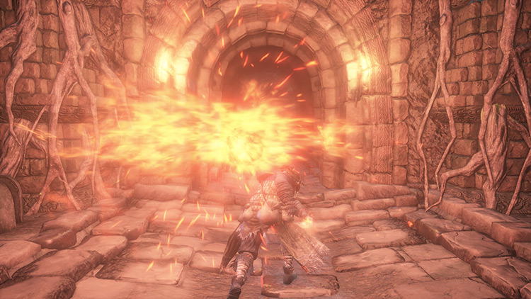 Chaos Bed Vestiges from Dark Souls 3