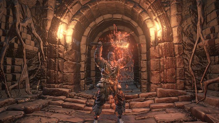 Carthus Flame Arc Dark Souls 3